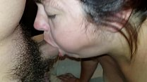 Sexy BBW Deepthroats Gags and Gets Fucked