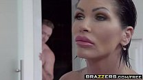 Brazzers - Mommy Got Boobs - Clueless Cum Lessons scene starring Shay Fox and Kyle Mason