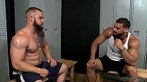 Bearded gays having anal sex