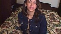 Light Skin Teen w Nice ass Gets Fucked in Ebony Amateur POV Video