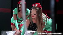 Brazzers - Sexy nurses Dani and Luna help with sexual healing