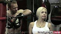 Hot blonde (Jesse Jane, Erik Everhard) fuck in the ring - Digital Playground