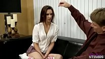 Alora James in hypnotized step daughter