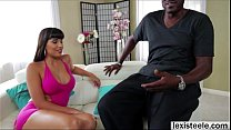 Director Lex fucks his Latina lover Mercedes in interracial anal
