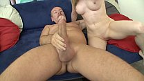 Amateur College Girl Casting she sucks & rides the big dick like a pro takes the cumshot on her ass