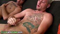 Amateur guys suck and cum
