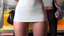 Upskirt Flashing in Subway — virtual reality with Jeny Smith