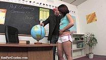 Schoolgirl Slut Earns Her Grades Thru Sex!