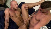 Muscular gay men