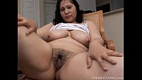 Busty brunette BBW wishes you were fucking her juicy pussy