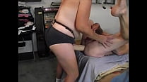 Stretching his manhole with my big cock