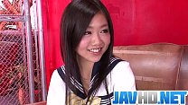 Akina Nakahara craves for this guyВґs dick in her