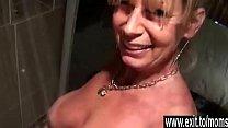 Cougar Silvia seduced her 19 years old neigbhor