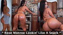 Rose Monroe Lookin' Like A Snack, Getting Her Big Ass Banged By Sean Lawless In The Kitchen!