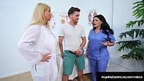 Big Dr Dick Suckers Angelina Castro & Karen Fisher Cure Cock