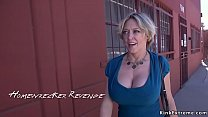 Dude fucking his former Milf sitter