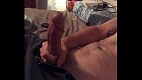 Stroking my big dick