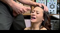 Jasmine Grey get caught stealing and fucked