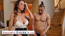 Naughty America - McKenzie Lee won't let her son's friend's big cock go unfucked