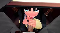 「Incognito」by blendy 13 [Tsukihime MMD R18]