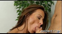 Mommy gets her anal creampied