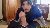 Hardcore fucking with horny Arab teen babe