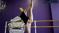 Sexy amateur ballerina