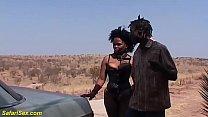 brutal african backseat fuck lesson
