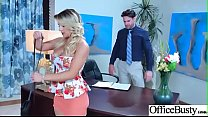 Hot Nasty Cute Girl (Cali Carter) With Big Juggs Like Sex In Office vid-11