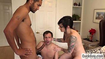 Nikki turns her husband into a little cuckold bitch