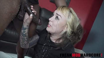 Felicia Fisher was late on her rent so i fucked her face and made her puke