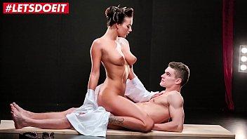 LETSDOEIT - Vanessa Decker Meets Massive Cock In Kinky Sex Fantasy