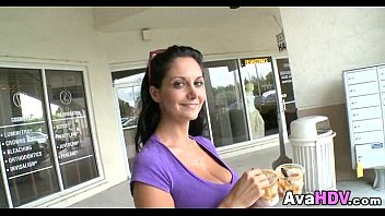 Hot Brunette MILF 02