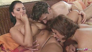 Huge Tits Secretary Caught Monster Cock Boss Fuck and Join FFM Anal Threesome