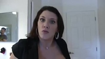 Leena Skye in Stepmom Catches Son Jerking And Fucks Him