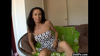 Milf pleases herself cause husband can't do it