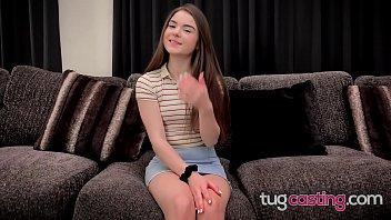 Petite Megan Marx Cum Begging Facial At Fake Casting